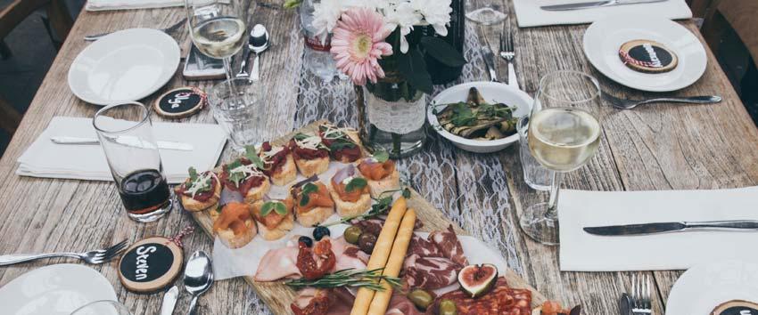Wedding Menu Tasting: Wedding Venue Advice