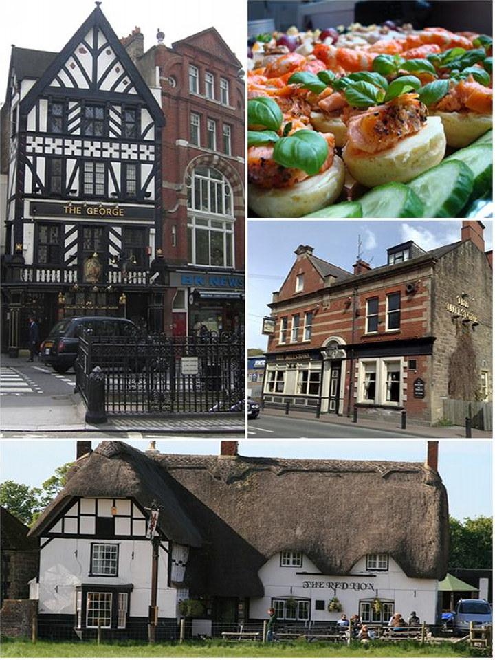 All about restaurant, pub and inn wedding reception venues ...